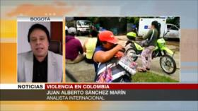 Sánchez Marín: Gobierno es arte y parte de crímenes en Colombia