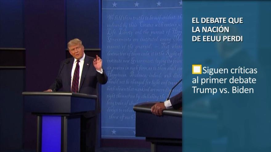 PoliMedios: El debate más desastroso en la historia de EEUU