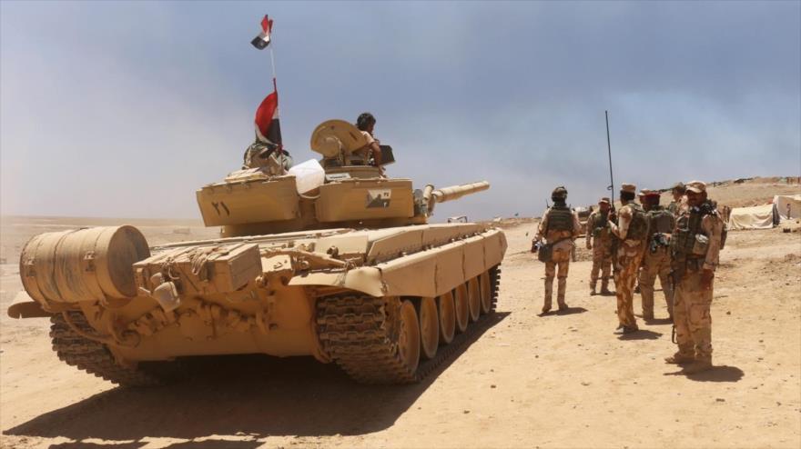 Fuerzas iraquíes desplegadas en Mosul, en el norte de Irak. (Foto: Reuters)