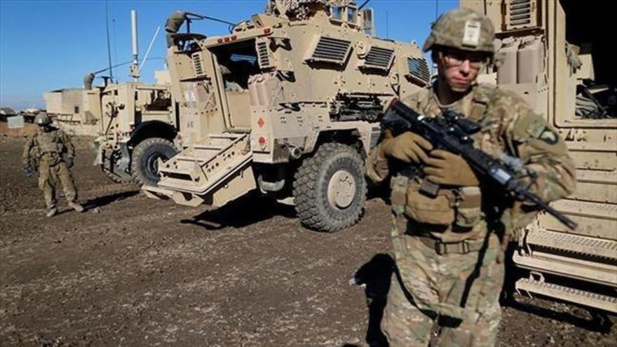 Soldados estadounidenses en una base militar cerca de la ciudad iraquí de Mosul, 27 de diciembre de 2016. (Foto: Reuters)