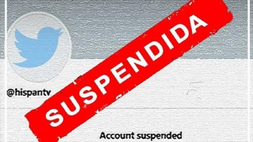 Twitter suspende de nuevo la cuenta de HispanTV