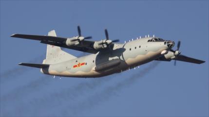 China vuelve a mostrar fuerza, enviando avión de combate a Taiwán