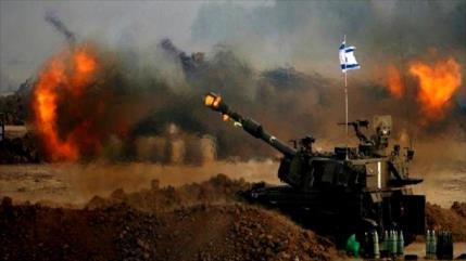 Artillería de Israel bombardea el sur de la Franja de Gaza