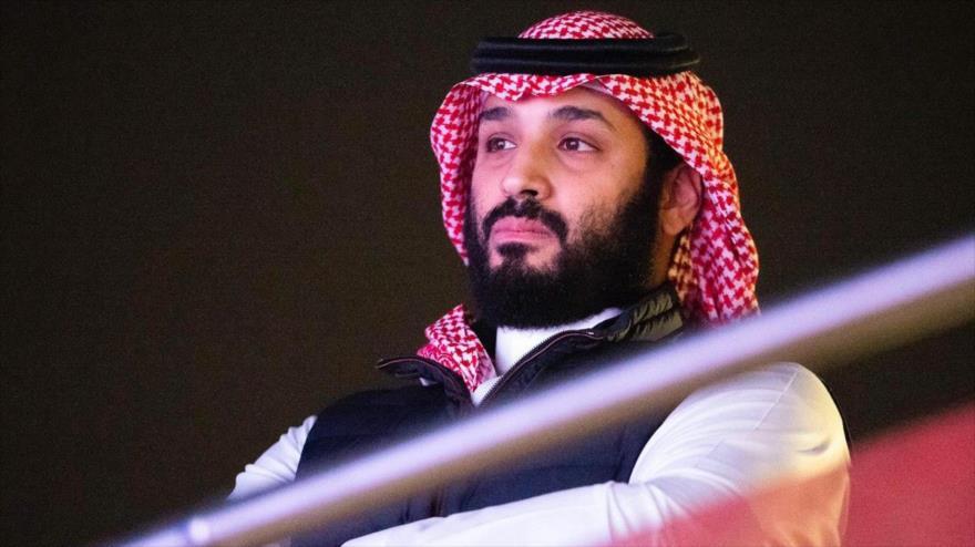 El príncipe heredero saudí, Muhamad bin Salman, asiste a un evento deportivo en Diriya, cerca de Riad (capital), 7 de diciembre de 2019. (Foto: AFP)