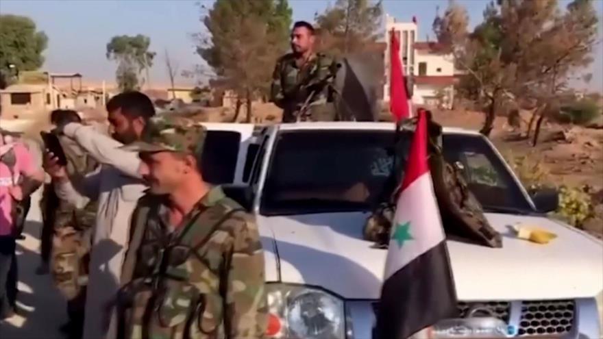 Sirios rodean puesto militar turco para pedir su retirada de Siria | HISPANTV