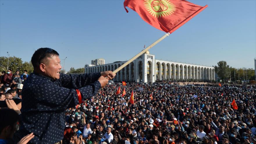 Premier kirguís dimite tras protestas y se anulan los comicios | HISPANTV