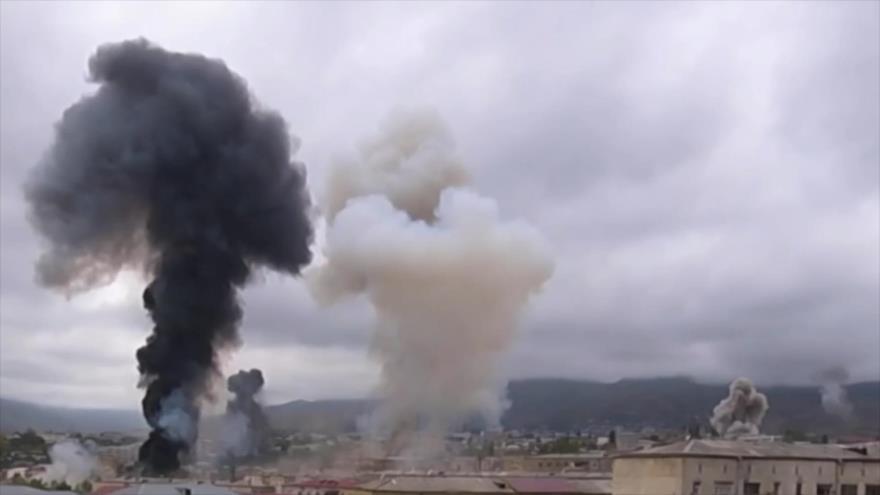 Irán y Rusia piden cese inmediato de hostilidades en Karabaj