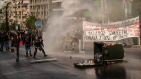 Choques en Atenas por decisión de tribunal contra partido neonazi