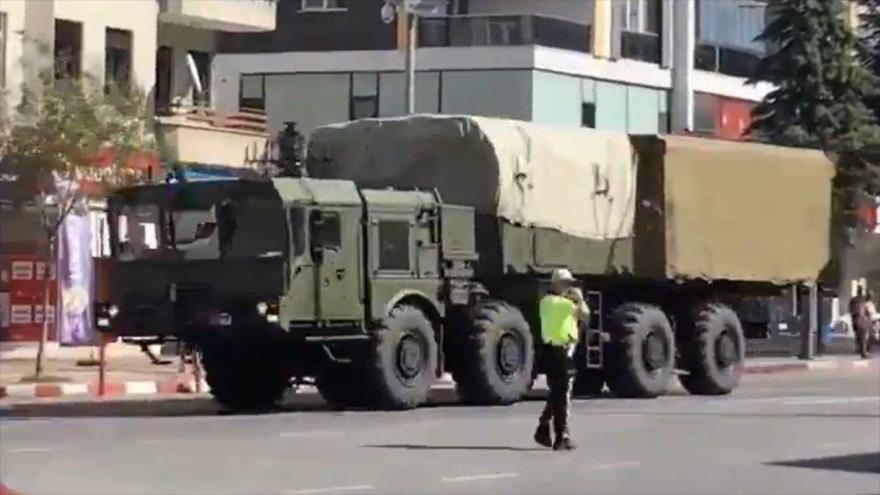 Turquía planea probar misiles rusos S-400 pese al rechazo de EEUU | HISPANTV
