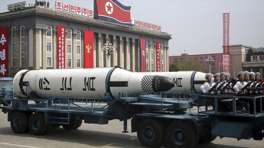 Seúl: Pyongyang podría desvelar misiles balísticos esta semana   HISPANTV