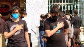 Los iraníes conmemoran Arbaín tomando medidas contra COVID-19