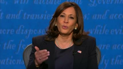 Harris critica a Trump por abandonar los acuerdos internacionales