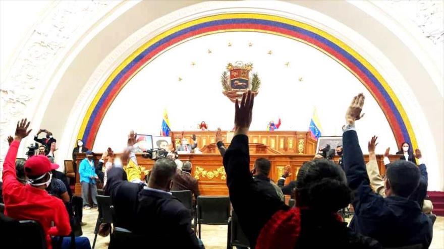 """Asamblea Nacional Constituyente venezolana avala """"Ley Antibloqueo"""""""