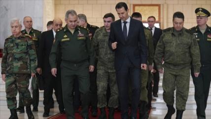Bashar al-Asad: Rusia está modernizando el Ejército sirio