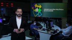 Buen día América Latina: Persecución política en Ecuador