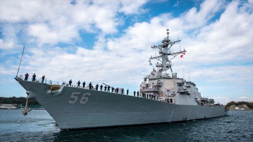 China denuncia incursión de buque de EEUU en sus aguas territoriales | HISPANTV
