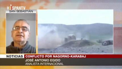 Conflicto en Nagorno Karabaj solo beneficia a la OTAN y a Israel