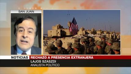 Szasdi: EEUU no va a retirar completamente sus tropas de Irak