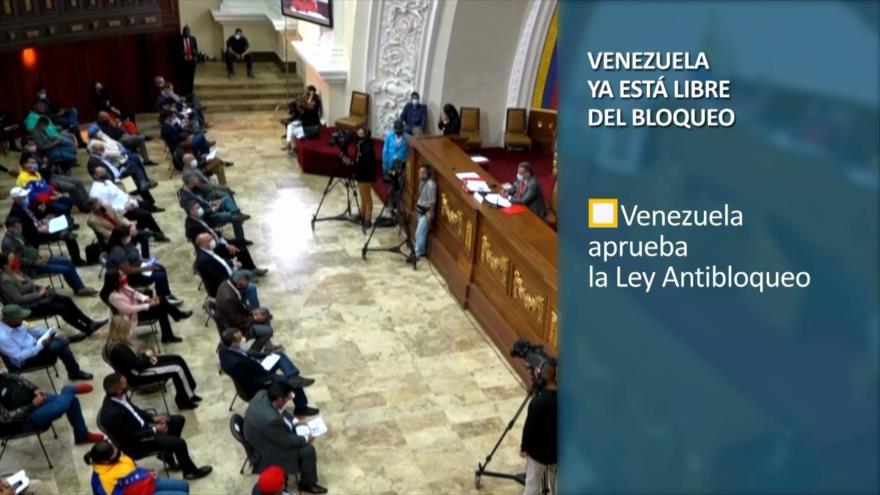 PoliMedios: Venezuela ya está libre del bloqueo
