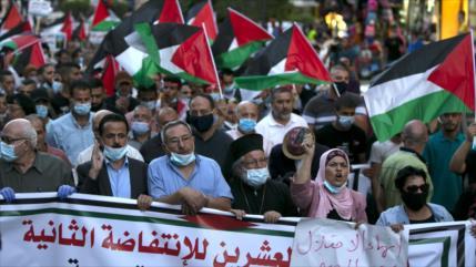 Miles de palestinos condenan el acercamiento de árabes a Israel