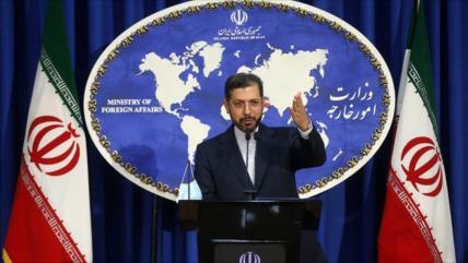 Irán: Insultos de Trump se deben al miedo y no al coraje