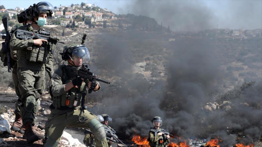 Ataque israelí deja al menos 53 palestinos heridos en Cisjordania