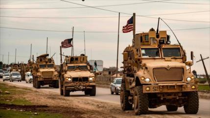 EEUU refuerza sus bases ilegales en Siria con un nuevo convoy