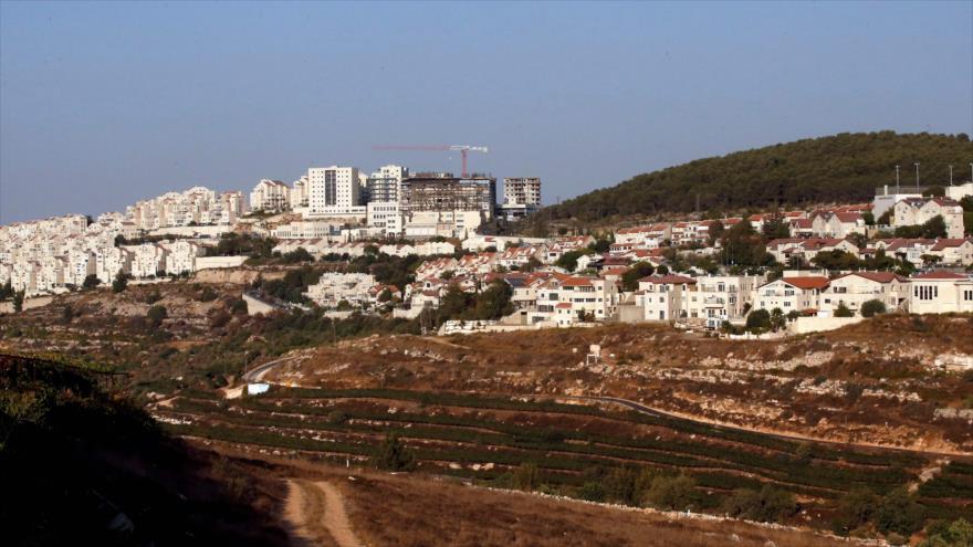 Vista general del asentamiento israelí de Efrat, ubicado cerca de la ciudad de Beit Lahm, en el sur de Cisjordania, 14 de septiembre de 2020. (Foto: AFP)