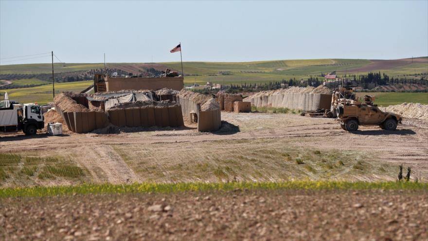 Una base militar del Ejército estadounidense en la provincia de Deir Ezzor, en el este de Siria.