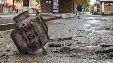 Hallan bombas israelíes sin explotar en la zona de Nagorno Karabaj