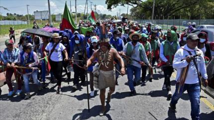 Indígenas piden a Duque acciones contra la violencia en Colombia