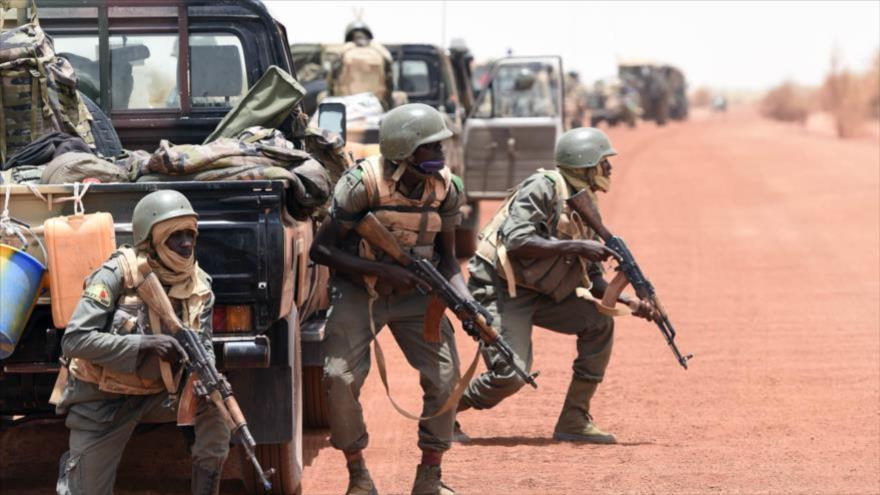 Soldados malienses.