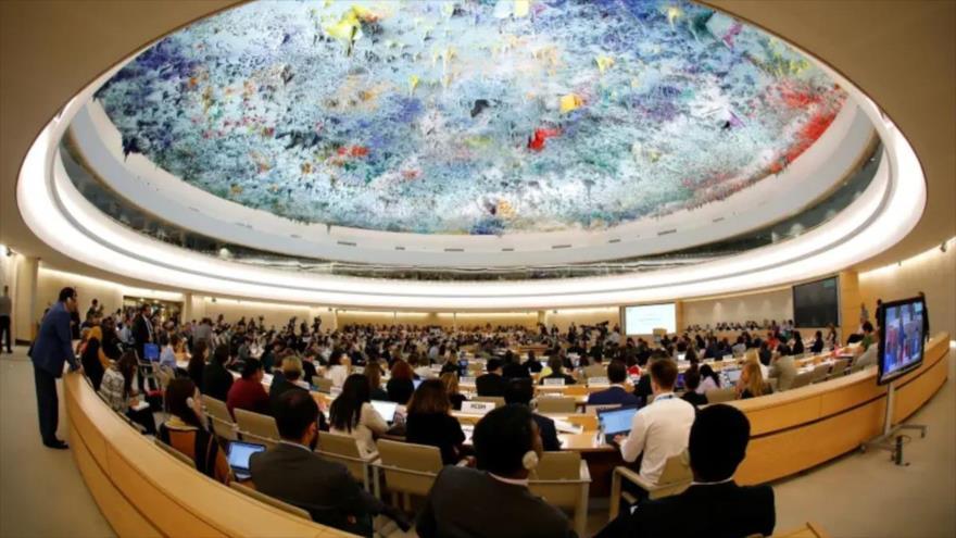 Sesión del Consejo de Derechos Humanos de la ONU.