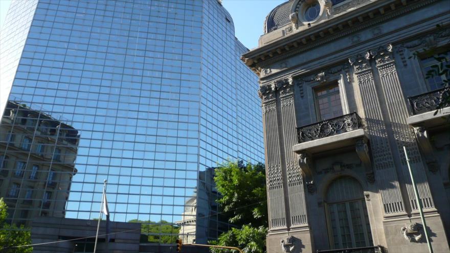 Edificio de la Cancillería argentina ubicado en Buenos Aires, la capital.