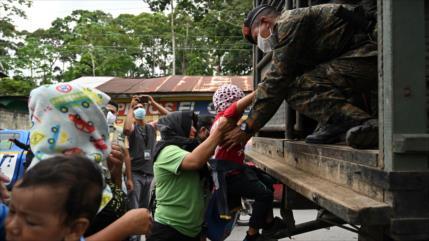 EEUU trasladó a migrantes en Guatemala con camionetas camufladas
