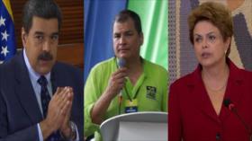Líderes latinoamericanos denuncian el intervencionismo de EEUU