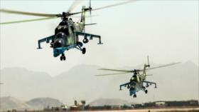 Colisión de dos helicópteros militares en Afganistán deja 9 muertos