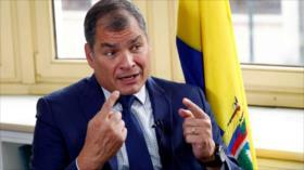 """Correa no pedirá indulto y probará que """"existe fraude procesal"""""""