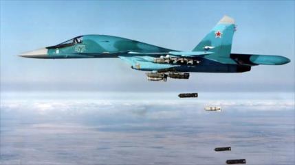 Aviación rusa elimina a 30 terroristas en Idlib