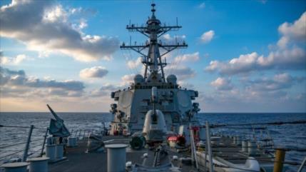 ¿Provocación a China? Acorazado de EEUU cruza estrecho de Taiwán
