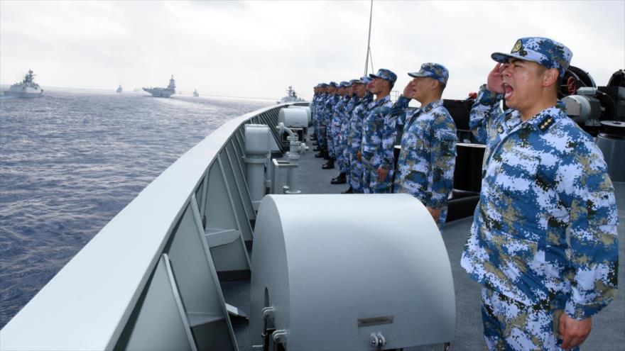 China dice que vigiló provocación de EEUU en el estrecho de Taiwán | HISPANTV