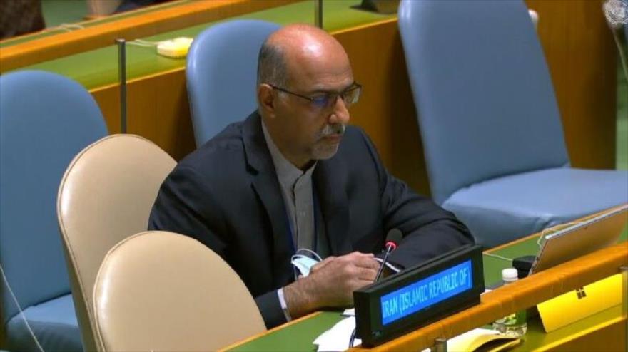 El representante de Irán ante el Tercer Comité de la Asamblea General de las Naciones Unidas (AGNU), Mohamad Zareian.