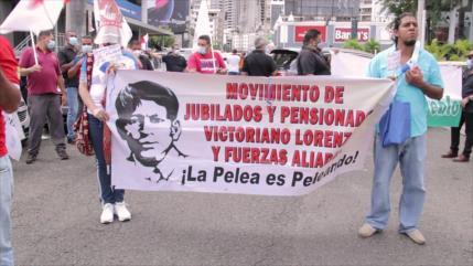 Protestan en Panamá contra recesión económica por COVID-19