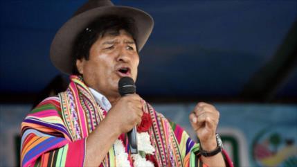 Morales: EEUU quiere dominar Bolivia para robar recursos de indios