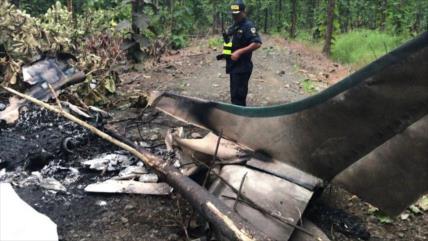Cae en Honduras avioneta con drogas dejando dos muertos