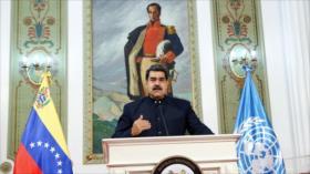 Maduro: Estamos de pie frente a agresiones y amenazas de EEUU
