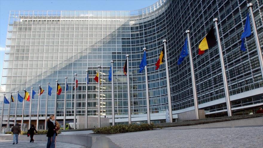 La sede del Consejo Europeo (CE), en Bruselas, capital política de la Unión Europea (UE).