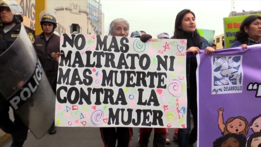 Perú registra 100 feminicidios en lo que va del año