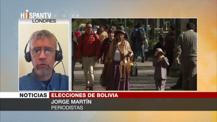 """""""Oligarquía boliviana quiere mantenerse en el poder a toda costa"""""""