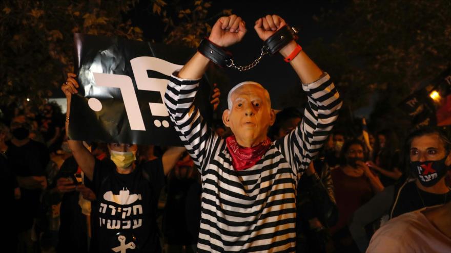 Sondeo: Más de 50 % de los israelíes desea la dimisión de Netanyahu   HISPANTV